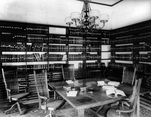 Library Director's Room, City Hall