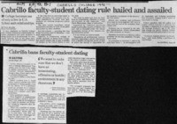 Cabrillo faculty-student dating rule hailed and assailed