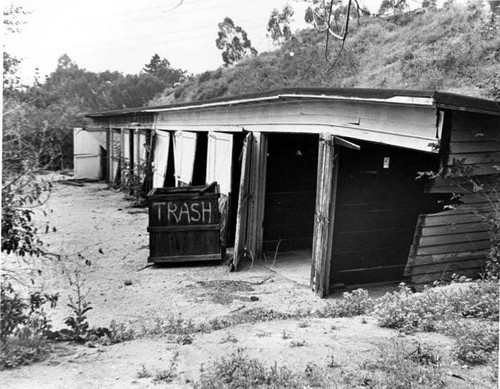 Olive View Hospital Storage Sheds