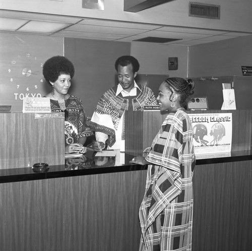Pat Hilton Caliope African Outfits, Los Angeles, 1973