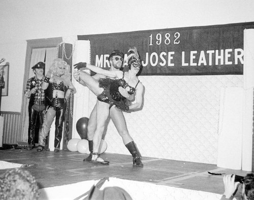 Mr. San Jose Leather dance performance