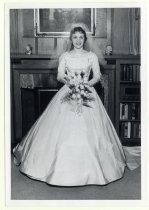 Margaret Ann Hooker on her wedding day
