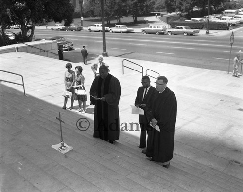 Prayer Sunday, Los Angeles, 1962