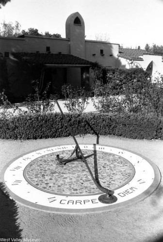 Sundial at the Orcutt Ranch, 1993