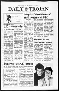 Daily Trojan, Vol. 60, No. 105, April 17, 1969