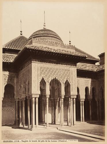 Calisphere Granada 1114 Templete De Levante Del Patio De Los