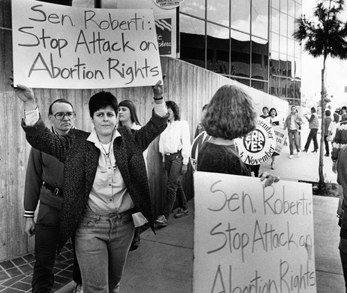 Abortion rights demonstration