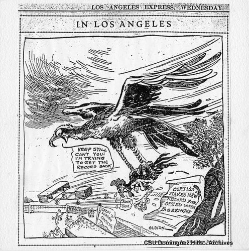 Los Angeles Express cartoon