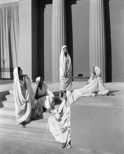 Norma Gould dancers at the Greek