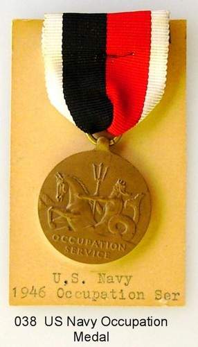 US Navy Occupation medal