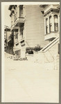 [Side front view of house in San Francisco]