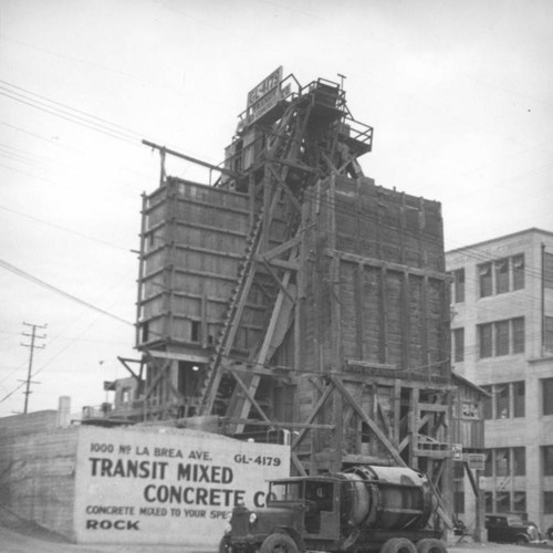 Transit Mixed Concrete Company, West Hollywood