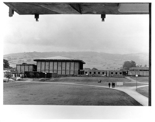 Calisphere: View of Sonoma State University looking east at