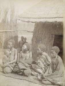 Wives of Mathaga, in Lealui, Zambia