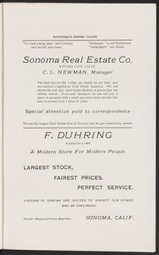 Picturesque Sonoma Valley