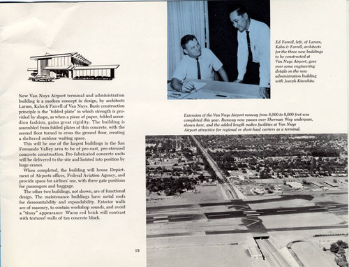Department of Airports Annual Report, 1960--Van Nuys Airport