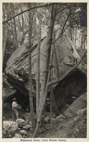 Diamond Rock, Cold Brook Camp (2 views)