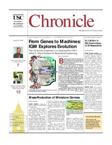 USC chronicle, vol. 18, no. 29 (1999 Apr. 26)