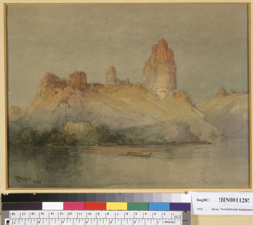 [Castle Butte, Green River, Wyoming?]