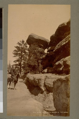 Buena Vista Drive, Garden of the Gods. 1413. [Colorado.]