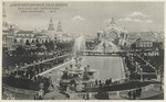 Lagoon and fountain in South Gardens, Pan.-Pac. Int. Exposition, San Francisco, 1915