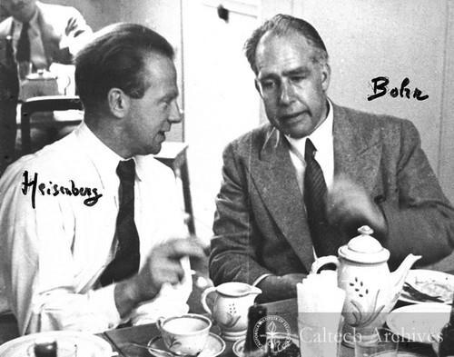 Werner Heisenberg and Niels Bohr — Calisphere