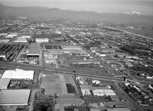 Kaiser Steel Corp., Montebello, looking northeast