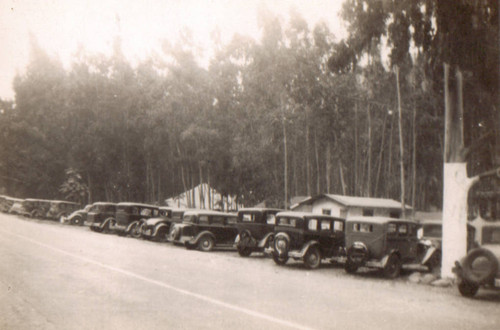 Cars Parked at Songer Camp