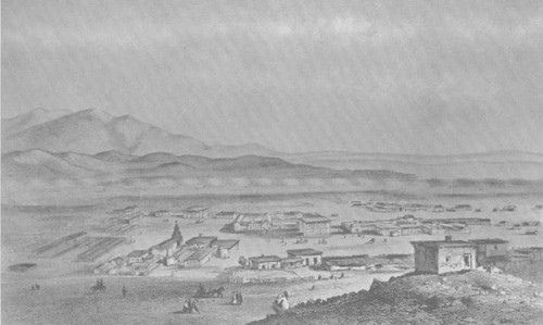 View of early Los Angeles
