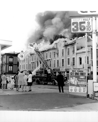 Fire at the Continental Hotel