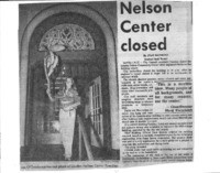 Nelson Center closed