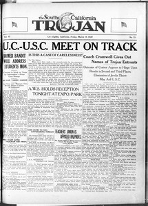 The Southern California Trojan, Vol. 11, No. 73, March 19, 1920