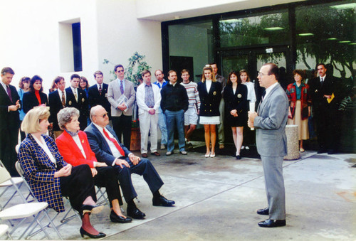 Rockwell Academic Center Dedication
