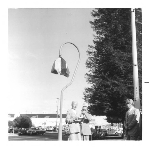 Unveiling the Mission Trail Bell in Petaluma, California, 1977