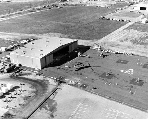 City of Los Angeles helicopter facility at Van Nuys Airport, 1971