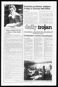 Daily Trojan, Vol. 89, No. 6, September 22, 1980
