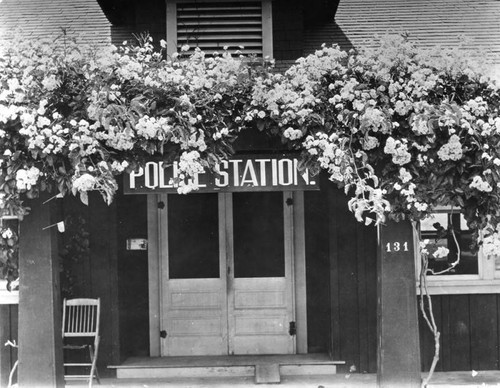 Old Hollywood police station
