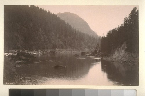 [Railway and stream, unidentified location.]--6890
