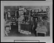 Interior of Wheeler Martin grocery store
