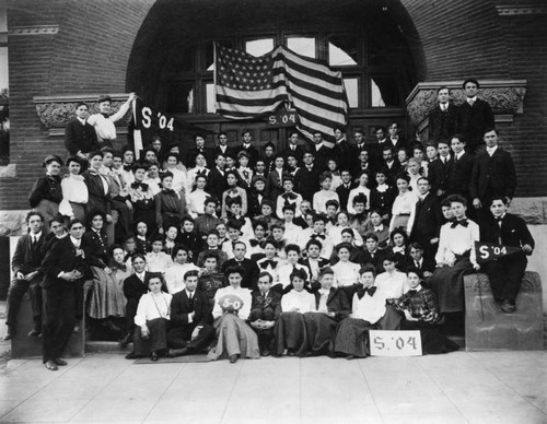 L.A. High School, Class of 1904