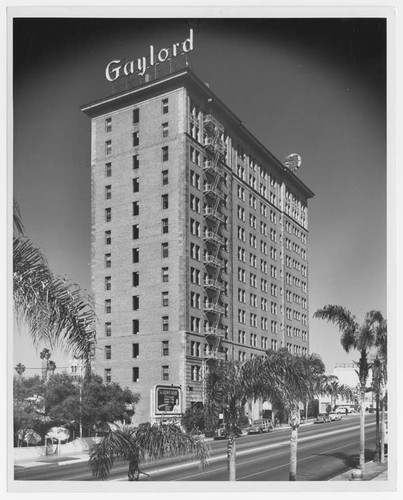 [Gaylord Hotel, Los Angeles]