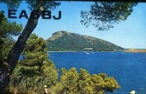 QSL Card to K6JI from EA6BJ