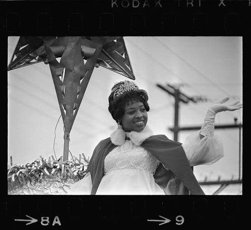 Queen of the Watts Chistmas Parade