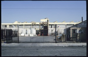 Industrial area along East 6th Street and East 8th Street between Mateo Street and Stanford Avenue, Los Angeles, 2002