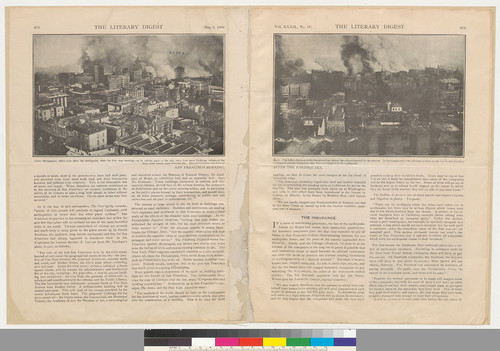 Earthquake articles: from The Literary digest: May 5, 1906