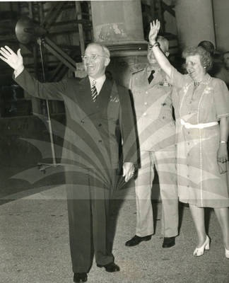 President and Mrs. Harry S. Truman