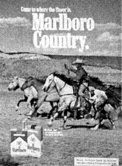Come to where the flavor is. Marlboro Country