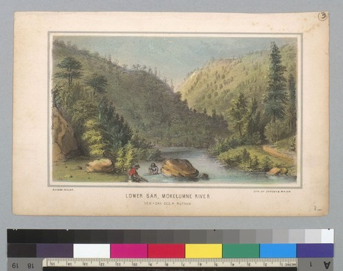 Lower Bar, Mokelumne River [Mokelumne Hill?, Calaveras County, California]