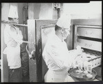 [Clift Hotel, kitchen] (6 views)