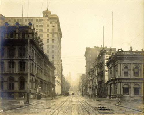 California Street, west of Sansome